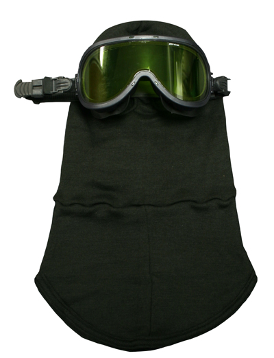 NSA 3 Ply Carbon X® 40 cal Knit Hood With Goggles Item KITHP45